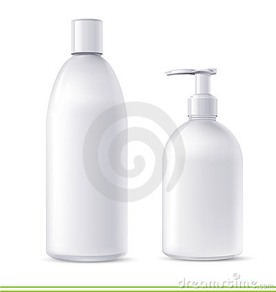 Free Shampoo And Soap Containers Stock Photos - 10528083