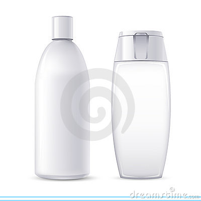 Free Shampoo Containers Royalty Free Stock Photo - 10559385