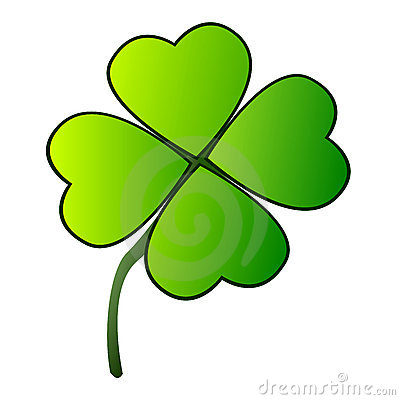 Shamrock Cartoon Illustration