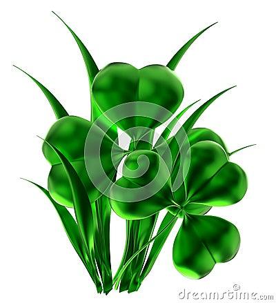 Shamrock as symbol of St. Patrick s day