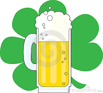 Shamrock and Beer