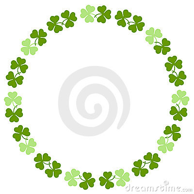 Free Shamrock Border Royalty Free Stock Image - 4337316