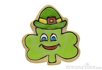 Shamrock Cookie