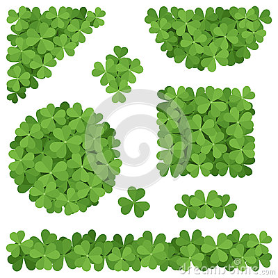Shamrocks decorations