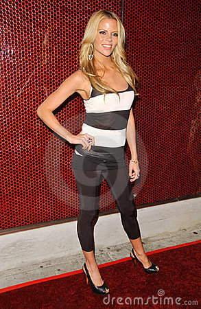 Shana Wall at the Launch of Dr. Rey s Shapewear. Opera, Hollywood, CA. 10-25-2007 Editorial Stock Image