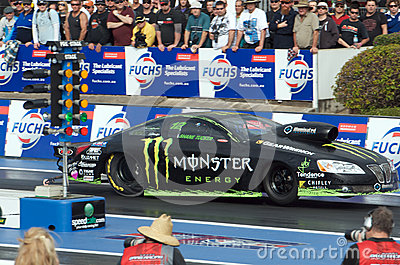 Shane Tucker Pro Stock Editorial Stock Image
