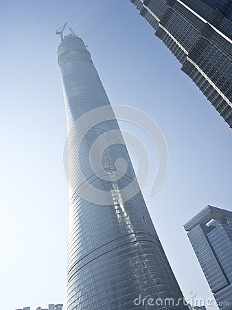 Shanghai center tower