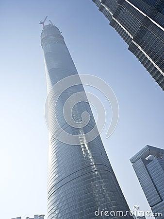 Shanghai center tower