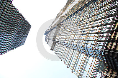 Shanghai high-rise Editorial Stock Photo