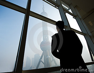 Shanghai landmark Editorial Image