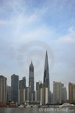 Shanghai Lujiazui buildings