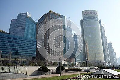 Shanghai Lujiazui Editorial Stock Image