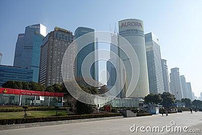 Shanghai Lujiazui Editorial Image