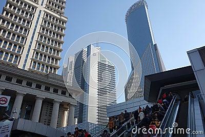 Shanghai Lujiazui Editorial Photography