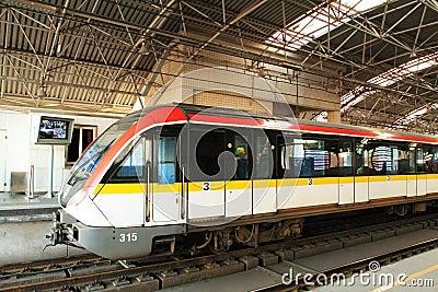 Shanghai metro Line 3 Editorial Photo