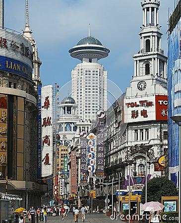 Shanghai - Nanjing Road - China Editorial Photography