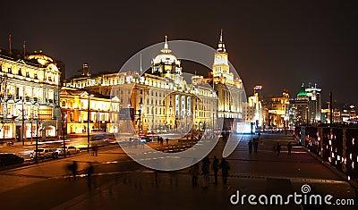 Shanghai Urban, Skyline Editorial Photography