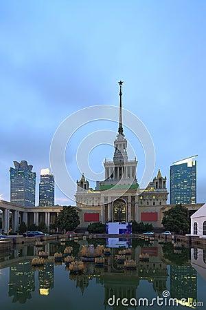 Shanghai utställningmitt