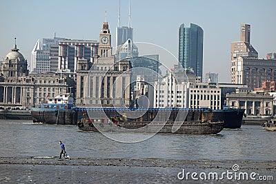 Shanghai waitan Editorial Photo