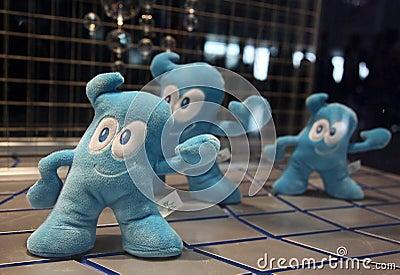 Shanghai World Expo 2010 mascot Haibao Editorial Stock Photo