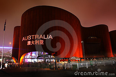 Shanghai World Expo Australia Pavilion Editorial Stock Image