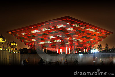 Shanghai World Expo China Pavilion Editorial Image