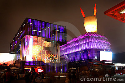 Shanghai World Expo Hongkong and Macau Pavilion Editorial Image