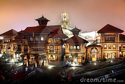 Shanghai World Expo Nepal Pavilion Editorial Image