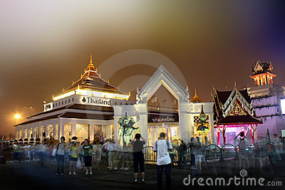 Shanghai World Expo Thailand Pavilion Editorial Image
