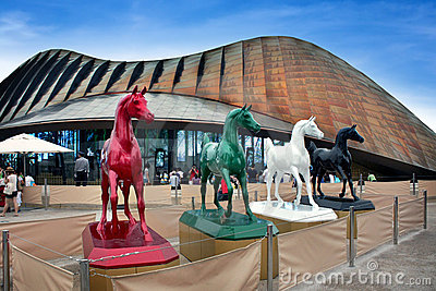 Shanghai World Expo united Arab Emirates  Pavilion Editorial Stock Image