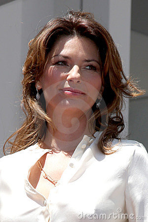 Shania Twain Editorial Stock Photo