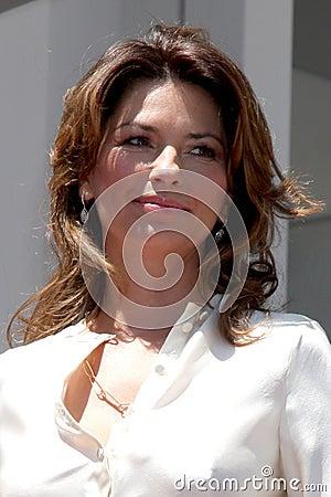 Shania Twain Editorial Stock Photo