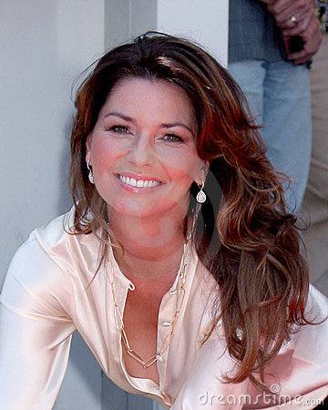 Shania Twain Editorial Stock Image