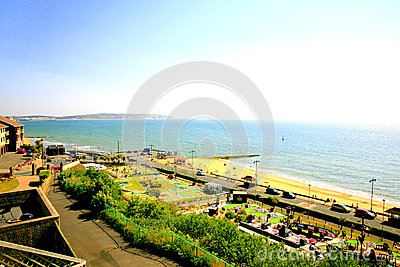 Shanklin, Isle of Wight. Editorial Stock Image