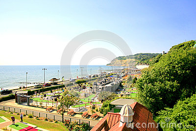 Shanklin, Isle of Wight. Editorial Stock Photo