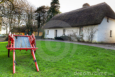 Shannon Farmhouse in Bunratty Folk Park, Ireland