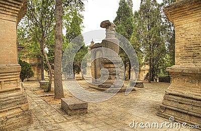 Shaolin monastery henan province