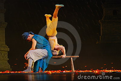 Shaolin Temple Kongfu Show Editorial Image