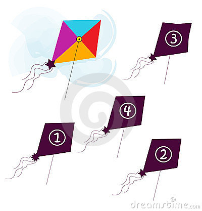 Shape of the flying kite