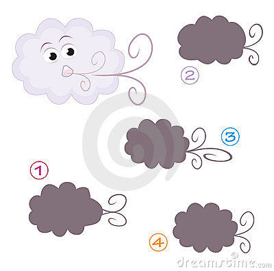 Free Shape Game - The Cloud Stock Photos - 16939783