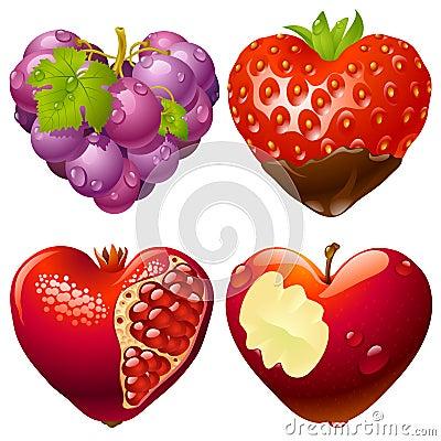 Shape of heart set 2