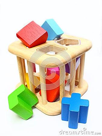 Free Shape Sorter Toy Stock Photos - 15369093