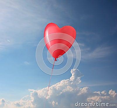 Shaped Balloon Heart