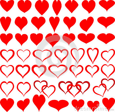 Shapes of hearts