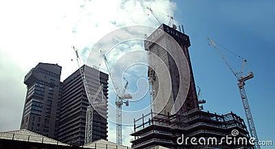 Shard construction Editorial Photo
