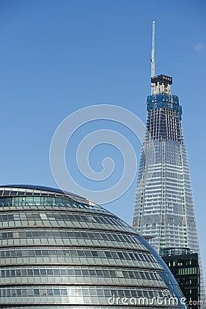 Shard of Glass Editorial Stock Photo