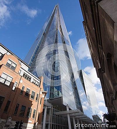 Skyscraper The Shard in London