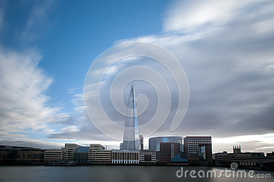 The Shard in London Editorial Stock Photo