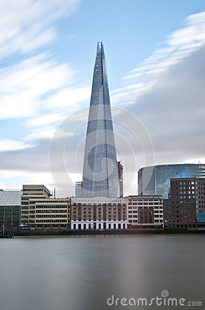 The Shard in London Editorial Photo