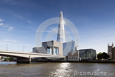 The Shard on London skyline
